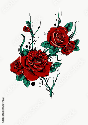 Mazzo Di Rose Stock Image And Royalty Free Vector Files On Fotolia
