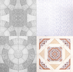 tiles abstract background
