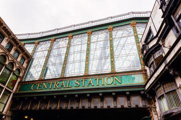 central station of Glasgow, Scotland, UK