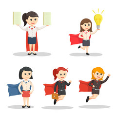 super office girl set