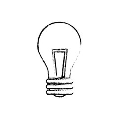 Isolated Bulb light icon vector illustration graphic design