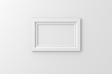 lateral white frame