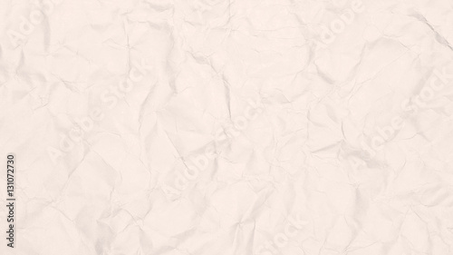 Recycled Crumpled Light Brown Paper Texture Or Background Closeup Detail For