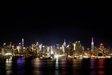 ニュージャージーからのマンハッタン