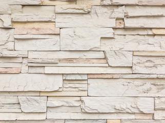 Closeup surface brick pattern at old stone brick wall textured background
