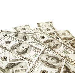 Cash. Money. US dollars. 100 dollar bills. one hundred dollar bills. paid.