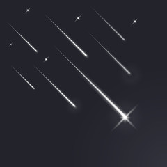 Shooting stars light