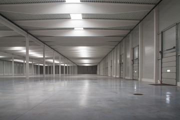 empty logistic hall