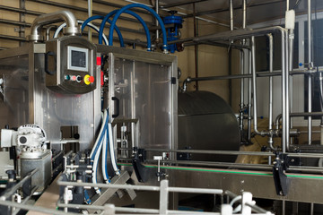 view on industrial dairy production gear
