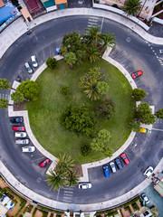 Roundabout in Maspalomas, Gran Canaria.