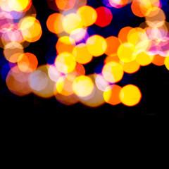 Artistic lights bokeh background.