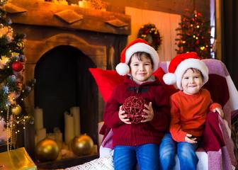 Face, Christmas hat, tree, fun