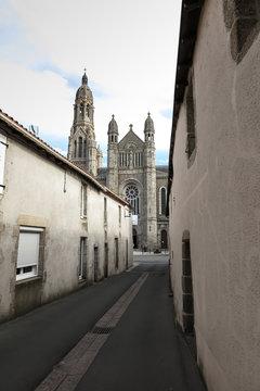 The Basilica of St. Louis de Montfort  at Saint-Laurent-sur-Sèv