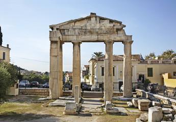 Roman Agora in Athens. Greece