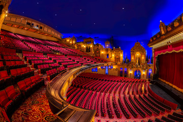 Photo sur Plexiglas Opera, Theatre Interior of the Louisville Palace theater in Louisville, Kentucky
