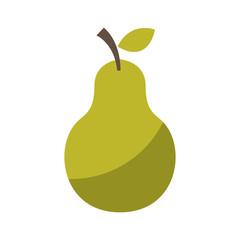 fresh fruit drawing icon vector illustration design