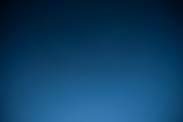 Blue and dark clear sky no clouds