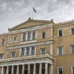 The Greek parliament, Athens