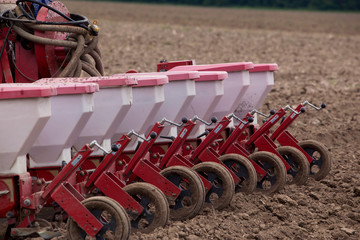 the agricultural machinery