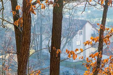 A house near the forest Watzdorf Bad Blankenburg thuringia