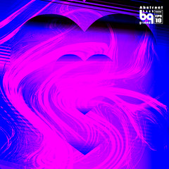 Background heart for design abstract