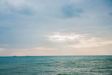 Very beautiful coastal landscape