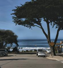 Breaking Waves/Near the beach at Pismo Beach, CA