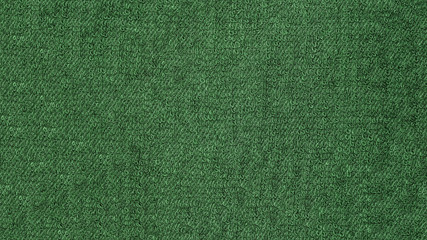 Green towel cloth beach texture background for design with copy space for text or image.