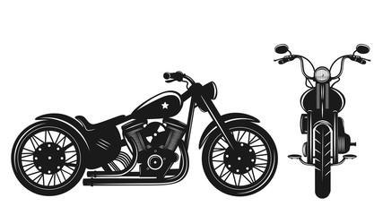 Motorcycles Vector Illustration