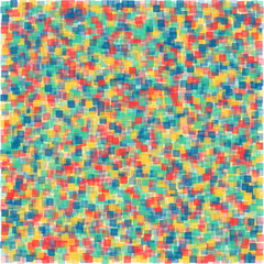 colored squares with transparency. abstract background. vector