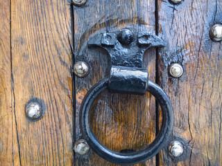 Ring on the door.