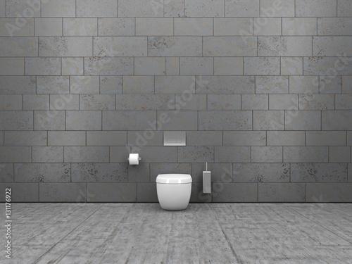 Badezimmer, WC, Toilette, Rolle, Bad, Klo\