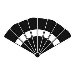 Fan icon. Simple illustration of fan vector icon for web