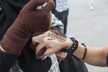Tatuaje de Henna, Marruecos