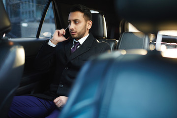 Calling in car