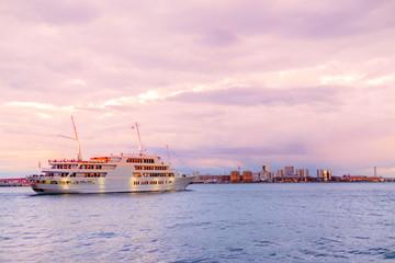 the tourist Cruise Port of Kobe