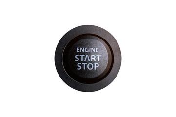 Engine start button.