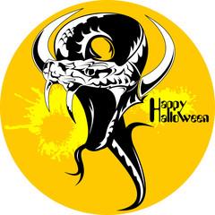 black snake halloween