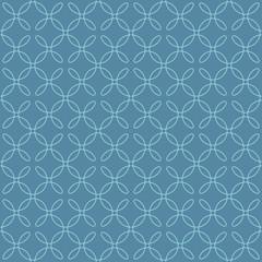 Neutral Seamless Linear Flourish Pattern in Niagara color