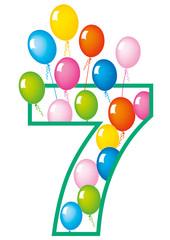 compleanno numero 7