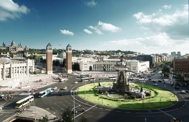 Barcelona,  Square of Spain