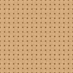 Braided seamless pattern. Wooden braided vector texture