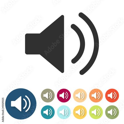 Icon - Lautsprecher - Audio - ON\