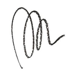 Black color Cosmetic pencil strokes