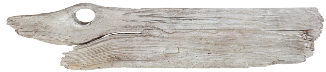 Driftwood plank with knot hole that looks like an eye Wall mural