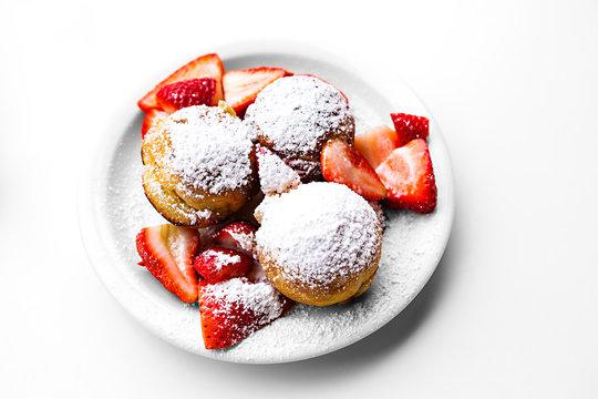 Aebleskiver (Danish dessert)