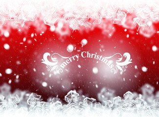 Christmas background, winter card