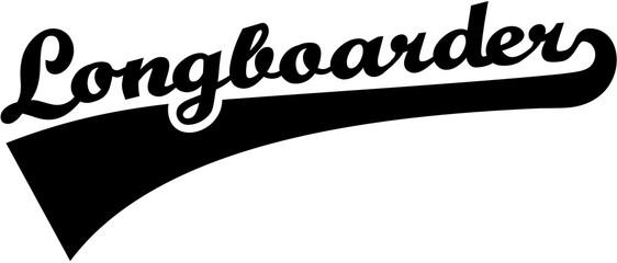 Longboarder retro font