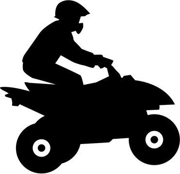 Quad driver silhouette