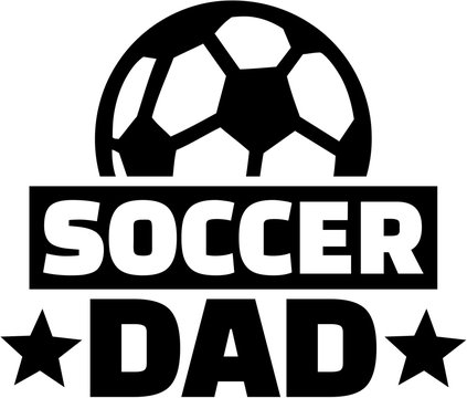 Soccer Dad with ball